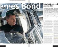 James Bond na lyžích